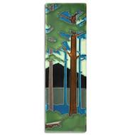 Motawi Tileworks Pine Landscape Summer 4x12 Vertical