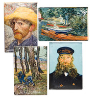 Van Gogh Magnets Set of 4