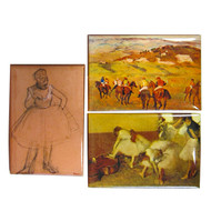 Degas Magnets Set of 3