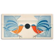 Motawi Tileworks Charley Harper Homecoming Tile