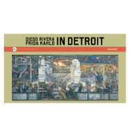 Diego Rivera Detroit Industry Murals North Wall Panorama Magnet