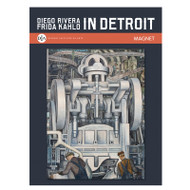 Diego Rivera Detroit Industry Murals South Wall Detail I - Magnet