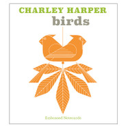 Charley Harper Birds Embossed Boxed Notecards