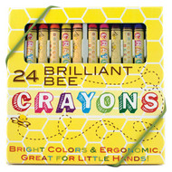 24 Brilliant Beeswax Crayons