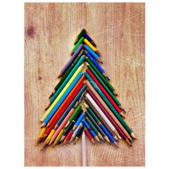Color Pencil Tree Boxed Holiday Cards