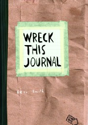 Wreck This Journal - Paper Bag Cover