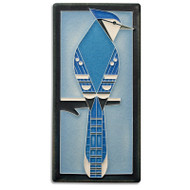 Motawi Tileworks Charley Harper Blue Jay Tile