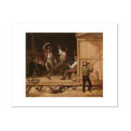 Dance of the Haymakers by William Sydney Mount Archival Print