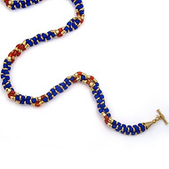 Thebes Triple Strand Necklace
