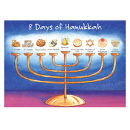8 Days of Hanukkah Holiday Cards