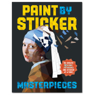 Masterpieces Paint by Sticker Activity Book