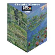 Claude Monet Double Sided Puzzle