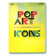 Pop Art Icons: Warhol, Oldenburg, Lichtenstein DVD