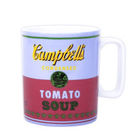 Andy Warhol Campbell's Soup Mug - Red & Violet