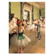 Degas The Dance Class Puzzle