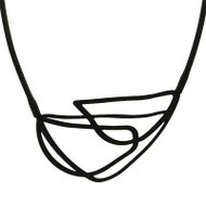 Entwine Necklace in Jet