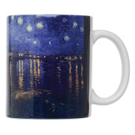 Vincent van Gogh's Starry Night Over The Rhone Mug