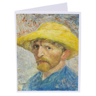 Vincent van Gogh Self-Portrait Single Note Card