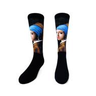 Girl with a Pearl Earring Socks