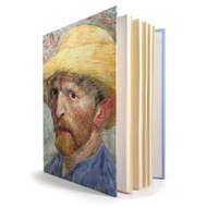 Self Portrait by Van Gogh Lined Journal
