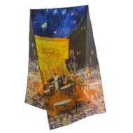 Van Gogh Cafe Terrace at Night Scarf