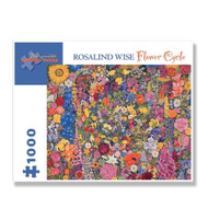 Rosalind Wise Flower Circle Puzzle