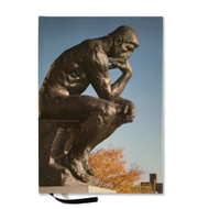 The Thinker by Rodin Lined Journal