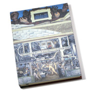 Diego Rivera Detroit Industry Murals South Wall Lined Journal