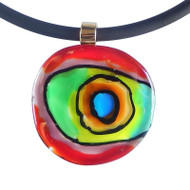 Murano Glass Abstract B Necklace