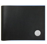 Slimfold Wallet Black with Cobalt Edge