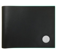 Slimfold Wallet Black with Teal Edge
