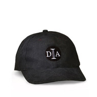 DIA Embroidered Logo Hat in Black