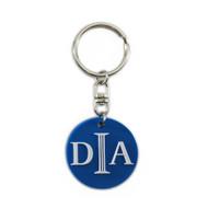 DIA Logo Keychain Blue