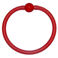 Tubino Bracelet Red/Red Murano Glass Bead