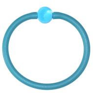 Tubino Bracelet Aqua/Aqua Murano Glass Bead