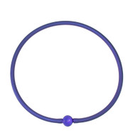 Tubino Necklace Cobalt/Sapphire Murano Glass Bead
