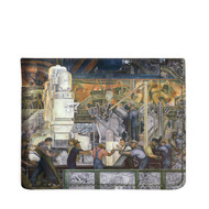 Diego Rivera Detroit Industry Leather Wallet North Wall