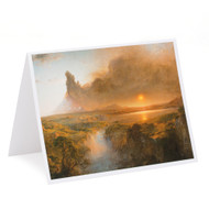 Frederic Edwin Church Cotopaxi Single Note Card
