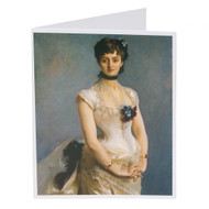 John Singer Sargent Madame Paul Poirson Single Note Card