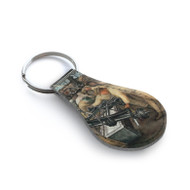 Diego Rivera Detroit Industry Leather Key Chain 1