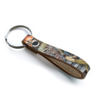 Diego Rivera Detroit Industry Leather Loop Key Chain 3
