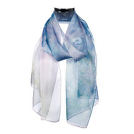 Monet Seine at Giverny Scarf