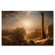 Church's Syria by the Sea Wall Canvas