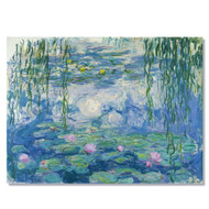 Monet's Waterlilies Wall Canvas