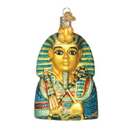 King Tut Glass Ornament