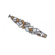 Prisms Bracelet in Metallic