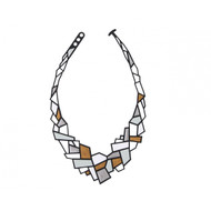 Prisms Necklace in Metallic
