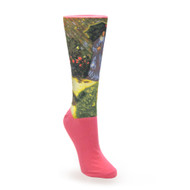 Rounded Flower Bed, Monet Socks