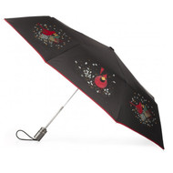 Charley Harper Cardinals Folding Umbrella