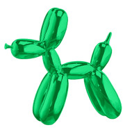 Balloon Dog Paperweight Green